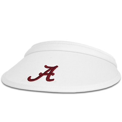Ladies Bungie Cord Visor With Script A