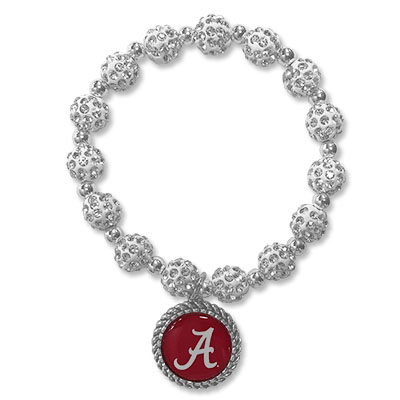 Alabama Clear Bling Bracelet