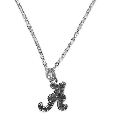 Alabama Silver Necklace Script A