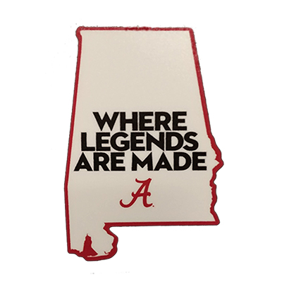 Where Legends Are Made Decal