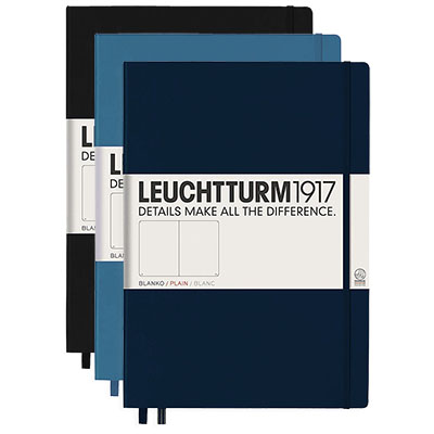 Leuchtturm Journal Master Slim Plain