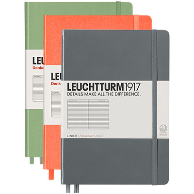 Leuchtturm Journal Hardcover Med Ruled