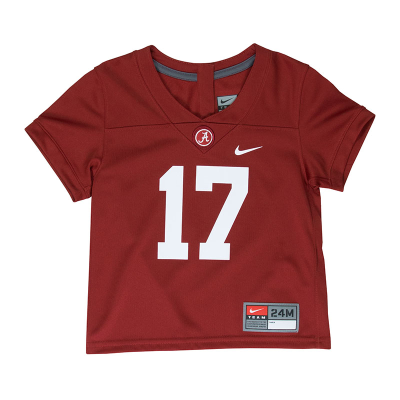 online retailer bfb42 89d1d Infant, Toddler, Kids, Youth Football Jersey #17