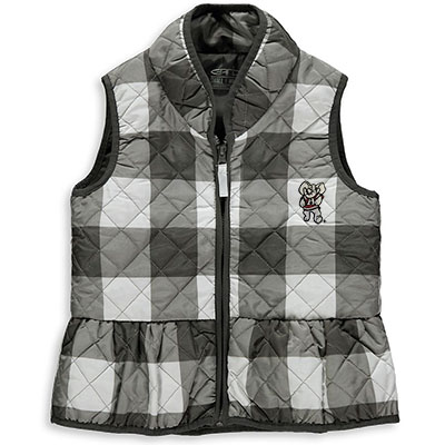 Wendy Quilted Gingham Vest