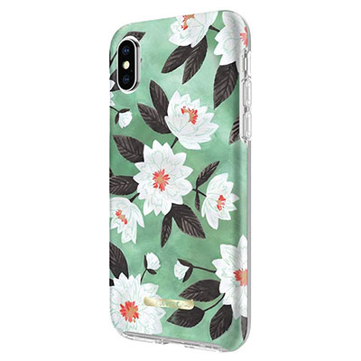 Mint Floral Iphone X Case
