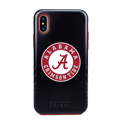 Us Digital Alabama Iphone X Case - Black/Red