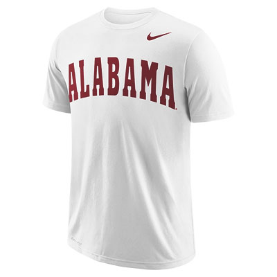 Nike Men's College Dri-Cotton Wordmark Alabama
