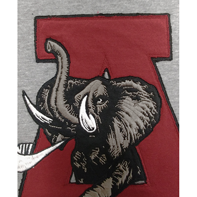47 BRAND MEN'S KNOCKOUT T-SHIRT ELEPHANT A