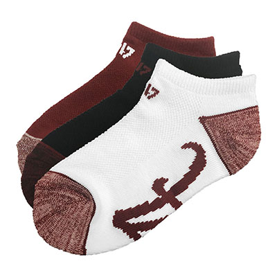 47 Brand Blade 3 Pack No Show Socks