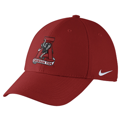 Nike College Dri-Fit Wool Swoosh Flex Cap