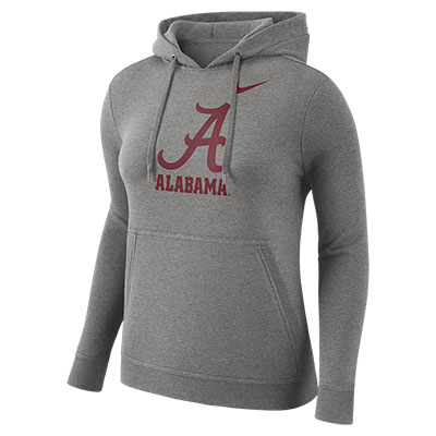 Nike Women's College Alabama Hood Pull Over Club Sweatshirt