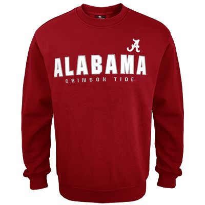 Alabama Crimson Tide Playbook Crewneck Fleece