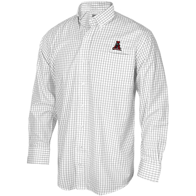Tuskwear Gameday Dress Shirt Standard Tattersalls With Vault Logo