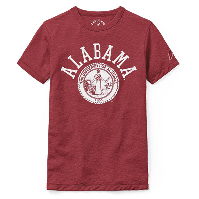 Alabama  Youth Victory Falls T-Shirt With University Seal