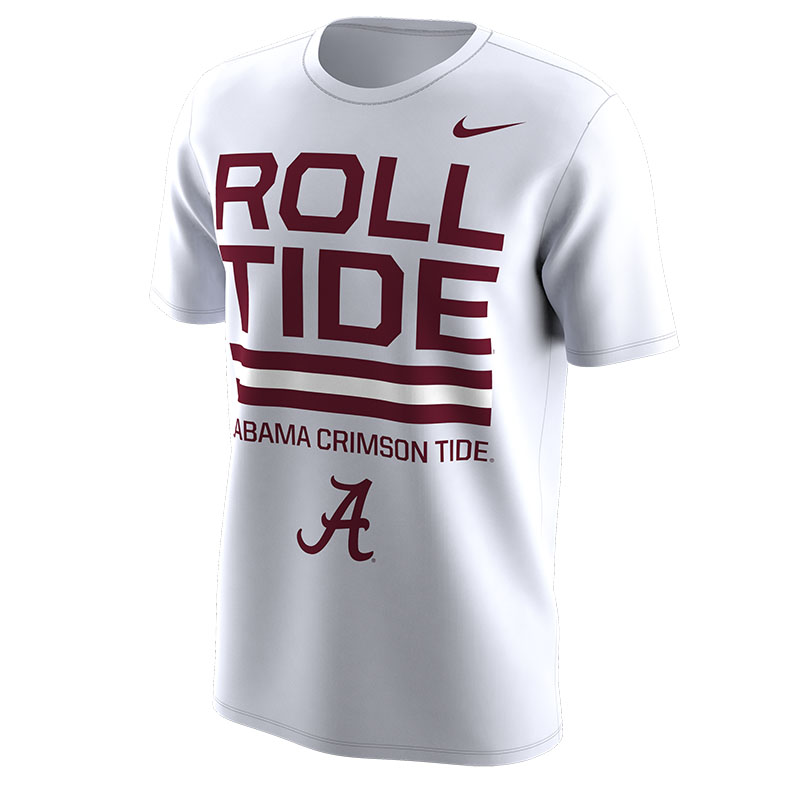 new style b01ab ee5f1 Nike Fall 2018 Local Dri-Fit Cotton Short Sleeve T-Shirt Roll Tide