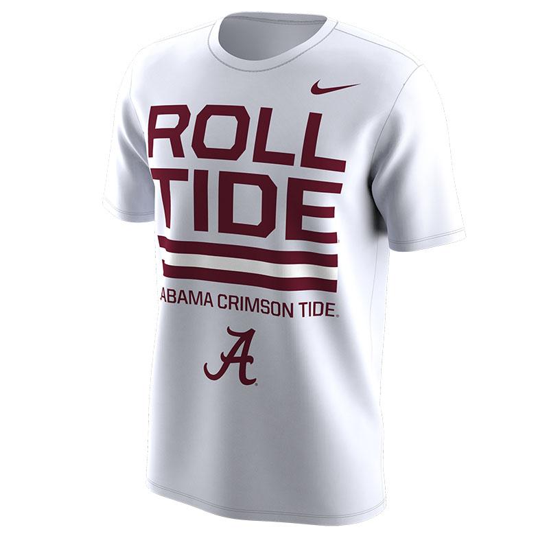 01e329d68 Nike Fall 2018 Local Dri-Fit Cotton Short Sleeve T-Shirt Roll Tide ...