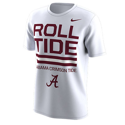 Nike Fall 2018 Local Dri-Fit Cotton Short Sleeve T-Shirt Roll Tide