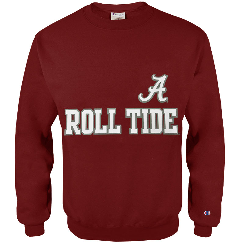 Champion Eco Powerblend Crew Roll Tide (SKU 1312413743)