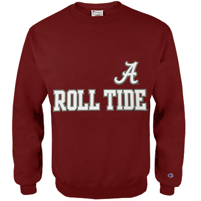 Roll Tide Script A Champion Eco Powerblend Crew