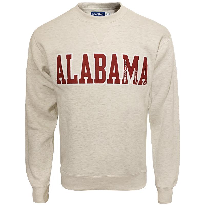 Alabama Crimson Tide Big Cotton Crew  283a1e7713