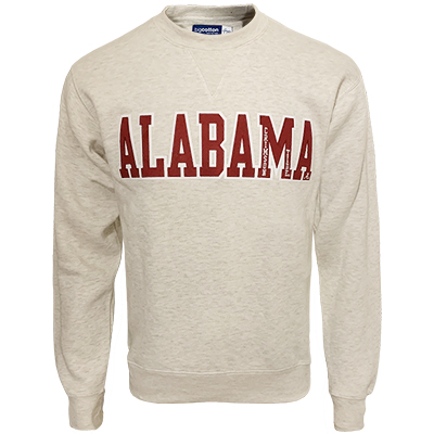 Alabama Crimson Tide Big Cotton Crew