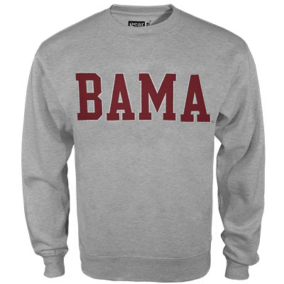 University Of Alabama Big Cotton Crew Sweatshirt