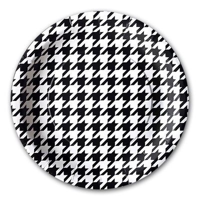 Houndstooth Plates