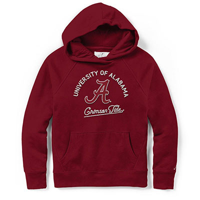 League Alabama Crimson Tide Academy Hooded Sweatshirt