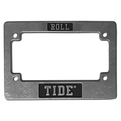 Alabama Motorcycle Tag Frame