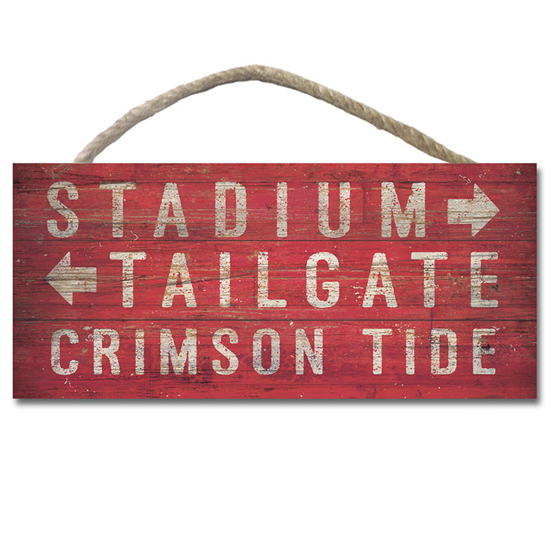 The Stadium Tailgate Wood Plank Hanging Sign (SKU 13152574106)