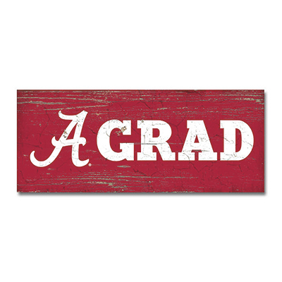 Alabama Grad Table Top Sign