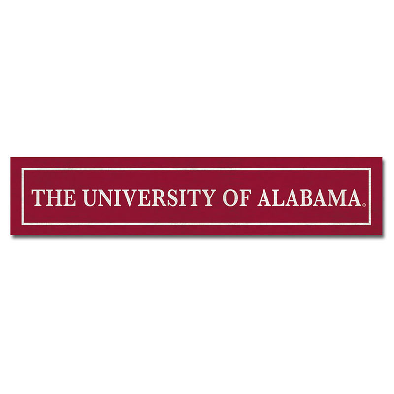 The University Of Alabama Table Top Sign (SKU 13152666106)