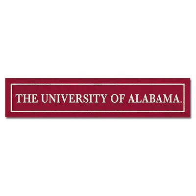 The University Of Alabama Table Top Sign