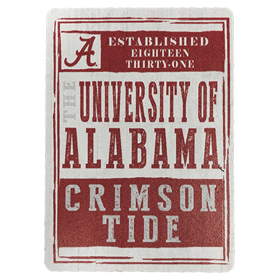 The University Of Alabama Crimson Tide Wood Magnet