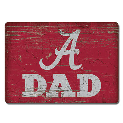 Alabama Dad Wood Magnet