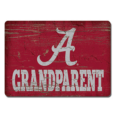 Alabama Grandparent Wood Magnet