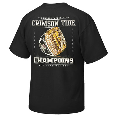 CHAMPIONSHIP RING NOT FINISHED YET T-SHIRT