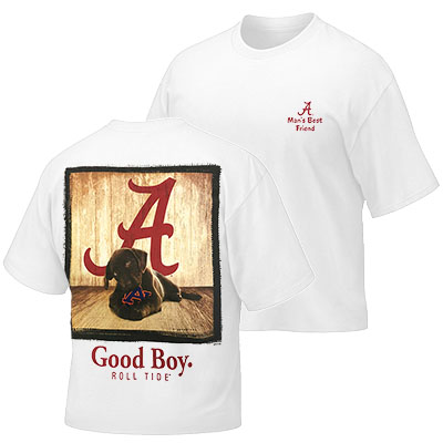 Youth T-Shirt Good Boy Roll Tide