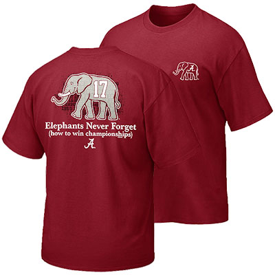 T-Shirt Elephants Never Forget