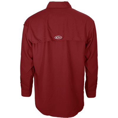 ALABAMA LONG SLEEVE FLYWEIGHT SHIRT WITH VENTED BACK