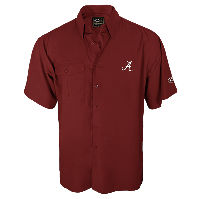 Alabama Short Sleeve Flyweight Shirt With Vented Back