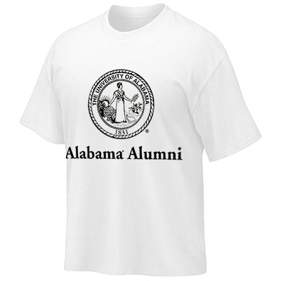 T-Shirt Alabama Alumni With Seal