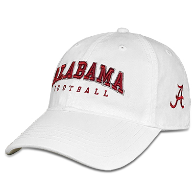 Relaxed Twill Cap Alabama Football With Script A