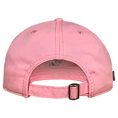 PINK ALABAMA LADIES' RELAXED TWILL CAP ELEPHANT STEPPING OVER A