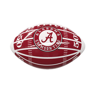 Alabama Field Mini Size Glossy Football