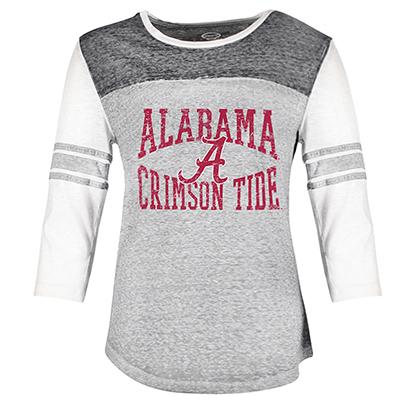 b01a45b48 Alabama Crimson Tide Ladies' 3/4 Sleeve Shirt