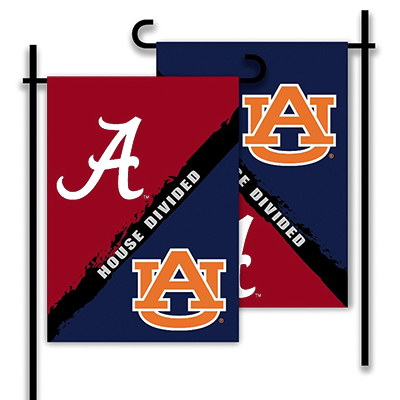 House Divided Garden Flag