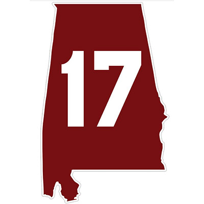 State 17 Decal
