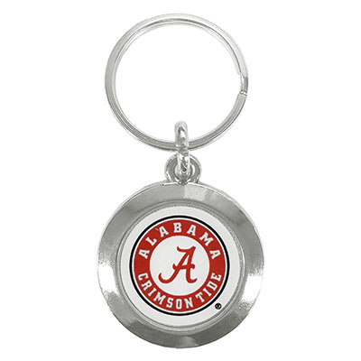 Prestige Round Keychain Athletic Seal