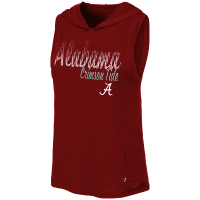 Alabama Crimson Tide Cannes Tank Top Hoodie